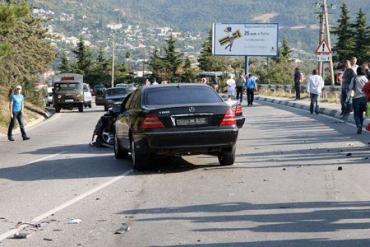 В ДТП в Ялте были тяжело травмированы два дипломата КНР