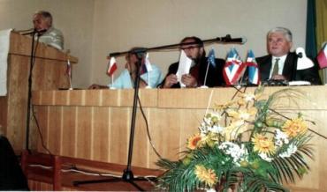 Ужгород. Конференція, присвячена 90-літтю Сен-Жерменського договору