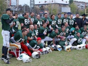 """Ужгородские """"Лесорубы"""" — чемпионы Украины 2009 года"""