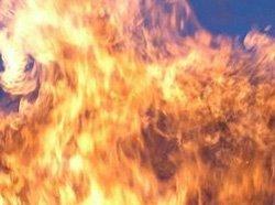 Пожежп на горищі житлового будинку