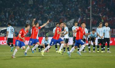 Чили впервые стала обладателем Кубка Америки