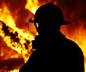 В Межгорском районе горел дом