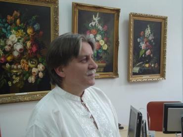 Відомий ужгородський художник Сергій Глущук