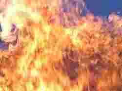 CITROEN загорівся від занесення стороннього джерела запалювання ззовні