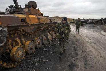 В ходе атаки под Дебальцево ВСУ открыли огонь по силам ДНР