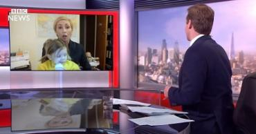 Пародия на интервью профессора Роберта Келли в эфире телеканала BBC