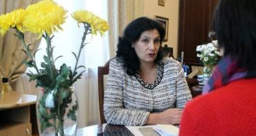 Іванна Климпуш-Цинцадзе, віце-прем'єр-міністр України.