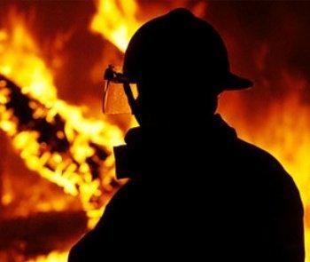 В селе Велятино горел жилой дом