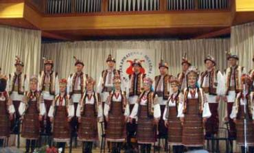 Виступає Закарпатський заслужений народний хор