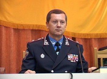Начальник ГУМВС України в Закарпатській області генерал-майор Павло КОНОНЕНКО