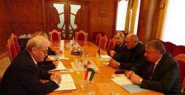 Зустріч Держсекретаря МЗС Угорщини Вілмоша Сабо з керівництвом Закарпаття