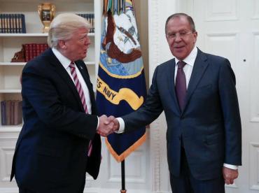 Трамп и Лавров мило побеседовали про Сирию и Украину