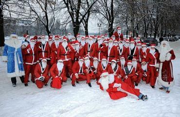 18 декабря в Ужгороде состоялся Парад Николаев