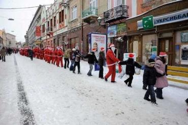 18 грудня в Ужгороді відбувся Парад Миколаїв