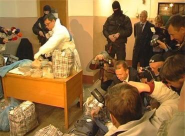 В Киеве сотрудники СБУ сожгли 117 кг героина