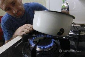 По нормам за газ платят примерно 4 млн домохозяйств Украины