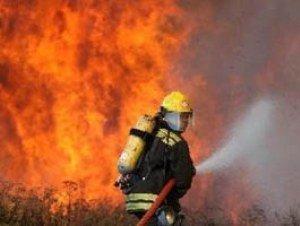 В Хусте сгорел грузовой автомобиль