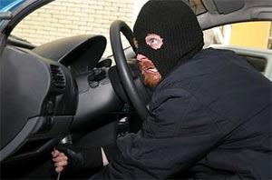 В ночь с 8 на 9 апреля в Киеве угнали сразу два автомобиля