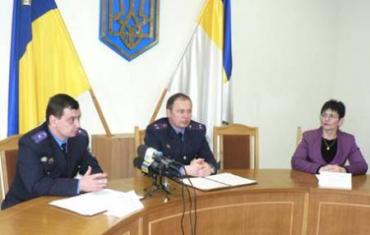 На прес-конференції податкової міліції в Ужгороді