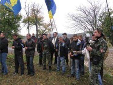 В Ореховице освятили крест карпатским сечевикам