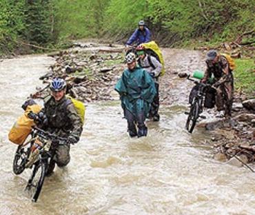 Велотуристы из Липецка прокатились по Карпатам