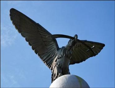 """У памятника """"Турул"""" состоялся митинг, посвященный освободительной борьбы венгерского народа 1703 - 1711 г.г."""