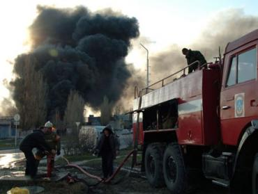 В Мукачево пожар нанес убытков на 20 тысяч гривен