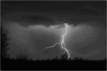 На Закаратье - штормовое предупреждение