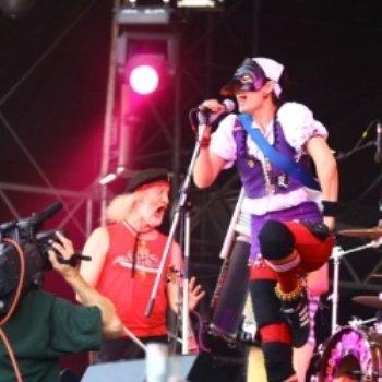 Концерт против расизма на фестивале Сигет