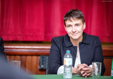 Народний депутат України Надія Савченко