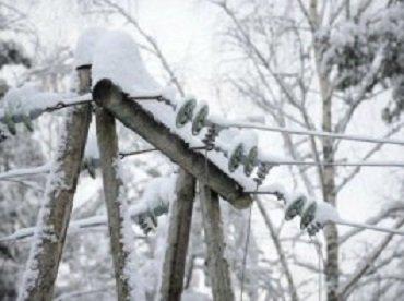 В Закарпатье непогода обесточила 24 населенных пункта