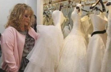 Пугачева нашла себе свадебное платье