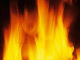В Виноградово горел подвал пятиэтажного дома