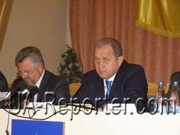 В Ужгороде министр МВД Анатолий Могилев провел совещание