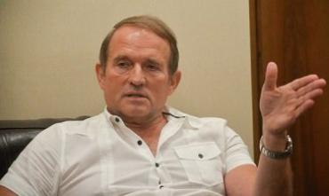 Медведчук прокомментировал скандал с Саакашвили