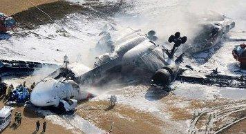 Авиакатастрофу потерпел военно-транспортный самолет