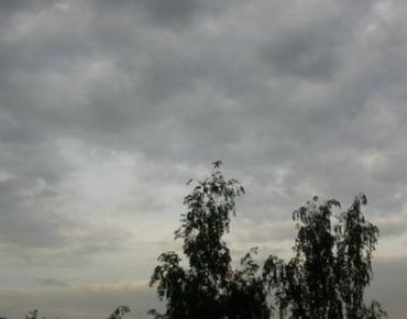 На Закарпатье переменная облачность, временами дождь, гроза