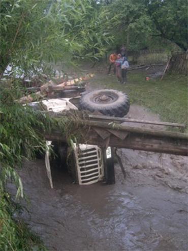 Горные районы Закарпатья подверглись удару стихии