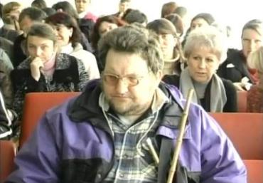 На Закарпатті фахівці патронажної служби «Дивосвіт» зустрілись з інвалідами зору