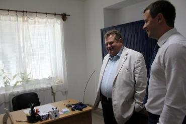 Роман Шницер открыл семейную амбулаторию на Береговщине