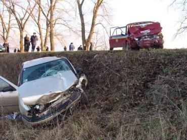 В Винницкой области в ДТП погибли 2 участковых инспекторов