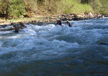 Уровень воды в реке Черемош повысился на 80 см