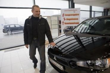 Житель Черкасс купил Mitsubishi Lancer всего за 3000 гривен