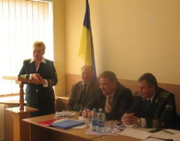 Заседает коллегия Государственной экологической инспекции в Закарпатской области