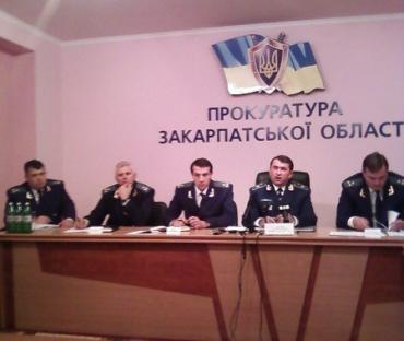 В Ужгороді Анатолій Петруня дав прес-конференцію