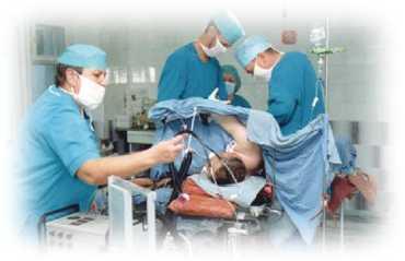 В Ужгороде впервые проведено оперативное вмешательство методом лапароскопии