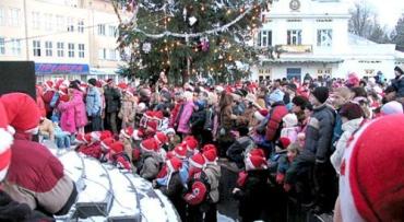 В Ужгороде готовятся к Параду Николайчиков и Новому году