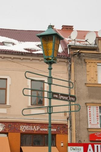 Ліхтарі оснастять мультимедійним терміналом в Ужгороді