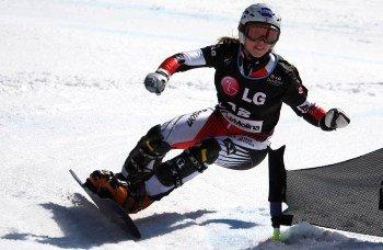 Закарпатка Аннамари Чундак выступила на чемпионате мира по сноубордингу