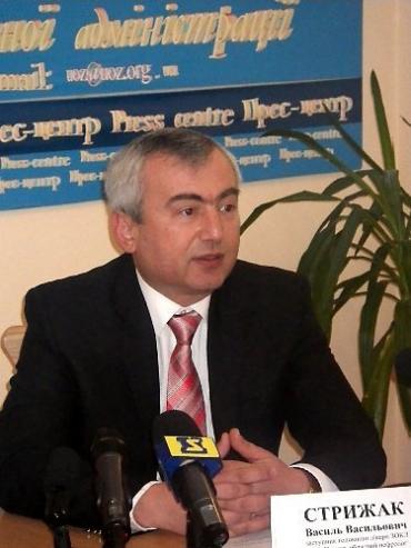 Василь Стрижак, заступник головного лікаря ЗОКЛ ім.Новака в Закарпатькій області